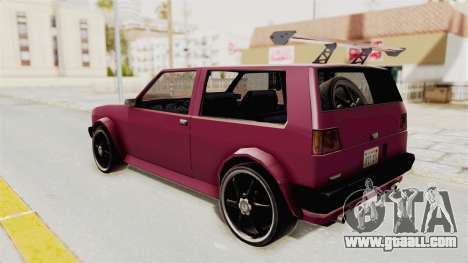 New Club Modification for GTA San Andreas left view