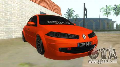 Renault Megane II Special TR for GTA San Andreas back view