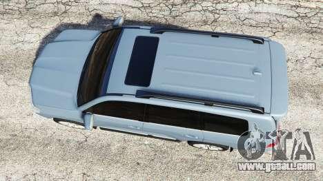 GTA 5 Toyota Land Cruiser 200 2016 v1.1 back view