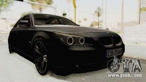 BMW 530D E60 for GTA San Andreas