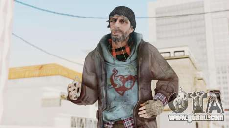 Bourne Conspirancy Homeless for GTA San Andreas