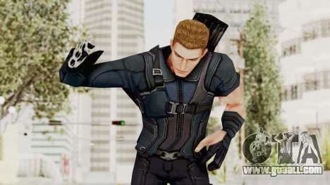 Captain America Civil War - Hawkeye for GTA San Andreas