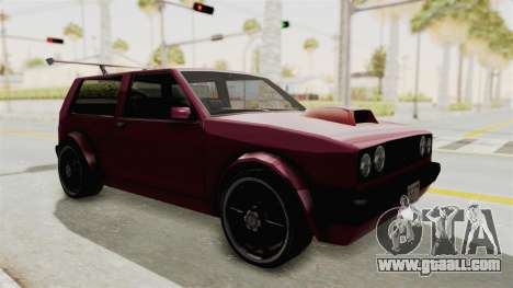 New Club Modification for GTA San Andreas right view