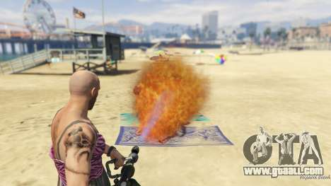 Real Flamethrower 1.5 for GTA 5