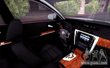 Toyota Camry V6 Sprot Edition for GTA San Andreas side view