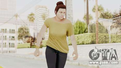 GTA 5 Online Female Skin 1 for GTA San Andreas