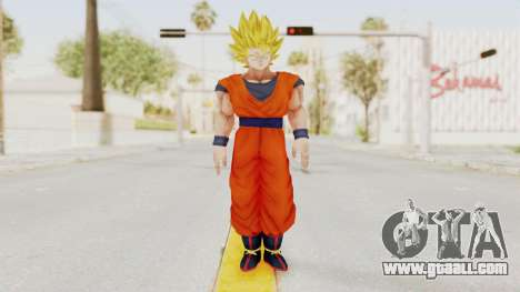 Dragon Ball Xenoverse Goku SSJ2 for GTA San Andreas second screenshot