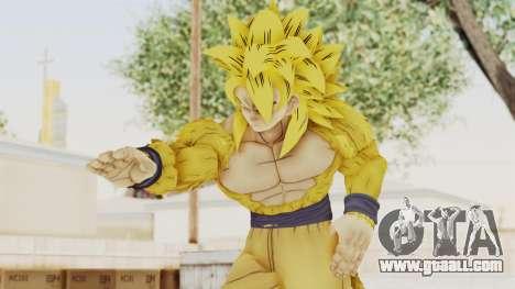 Dragon Ball Xenoverse Goku SSJ4 Golden for GTA San Andreas