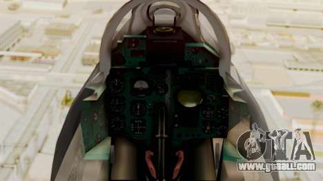 MIG-21 BIS Air Force Argentina for GTA San Andreas right view