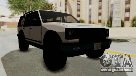 Dundreary Landstalker 1992 for GTA San Andreas right view
