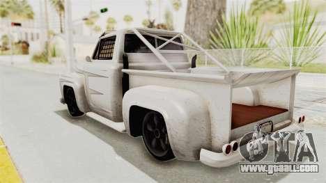 GTA 5 Slamvan Race PJ1 for GTA San Andreas inner view