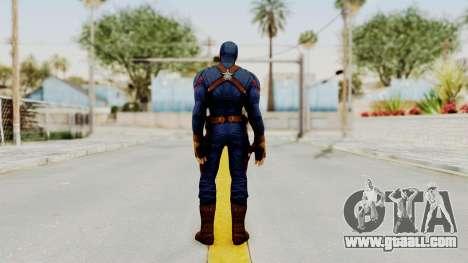 Captain America Civil War - Captain America for GTA San Andreas third screenshot