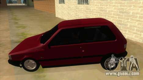 Fiat Uno S for GTA San Andreas left view