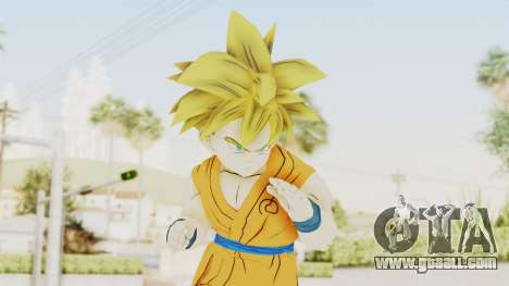 Dragon Ball Xenoverse Gohan Teen DBS SSJ1 v2 for GTA San Andreas
