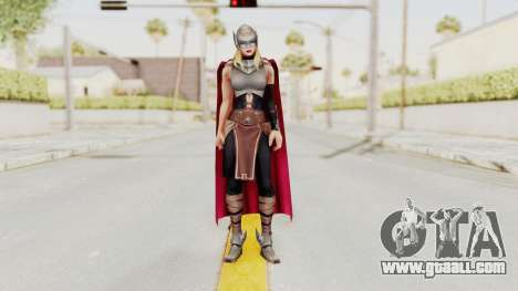 Marvel Future Fight - Thor (Jane Foster) for GTA San Andreas second screenshot