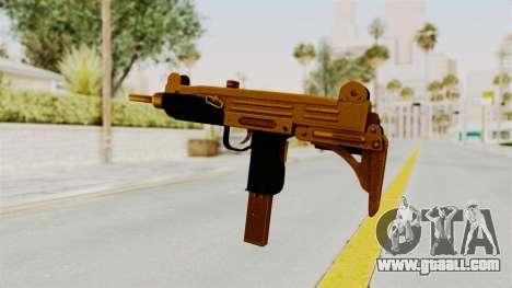 Uzi Gold for GTA San Andreas third screenshot