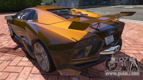 GTA 5 2008 Lamborghini Reventon 1.0 back view