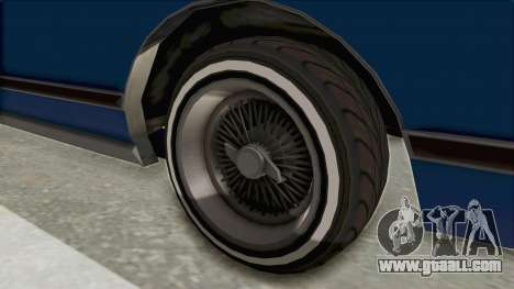 GTA 5 Dundreary Virgo Classic Custom v1 IVF for GTA San Andreas back view