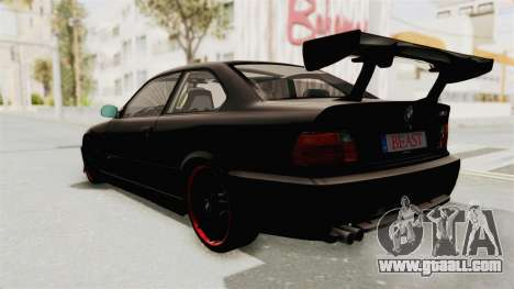 BMW M3 E36 Beast for GTA San Andreas right view