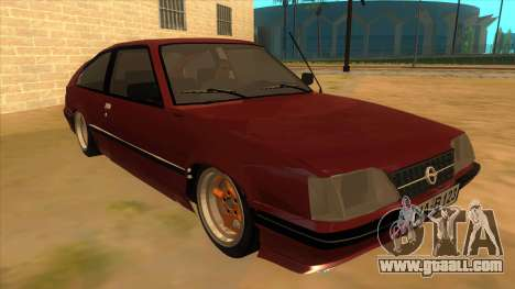 Opel Monza A2 for GTA San Andreas back view