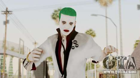 The Joker from Suicide Squad Re-Textured for GTA San Andreas