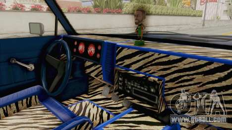 GTA 5 Dundreary Virgo Classic Custom v1 IVF for GTA San Andreas inner view