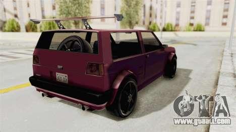 New Club Modification for GTA San Andreas back left view