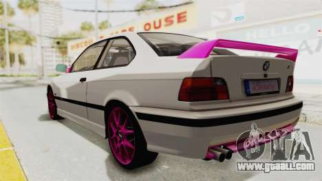 BMW M3 E36 Beauty for GTA San Andreas left view