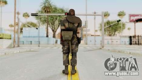 MGSV The Phantom Pain Venom Snake Scarf v4 for GTA San Andreas third screenshot