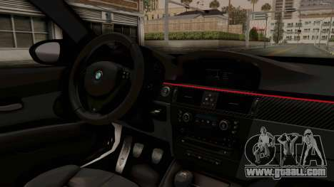 BMW M3 E92 Liberty Walk LB Performance for GTA San Andreas inner view