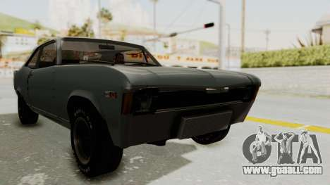 Chevrolet Nova 1969 StreetStyle for GTA San Andreas right view