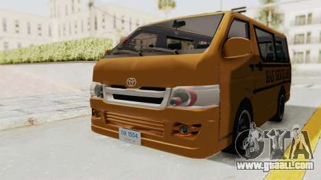 Toyota Hiace School Bus for GTA San Andreas