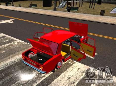 VAZ 21011 Factory for GTA 4 inner view