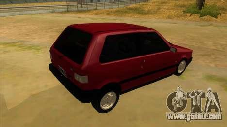 Fiat Uno S for GTA San Andreas right view