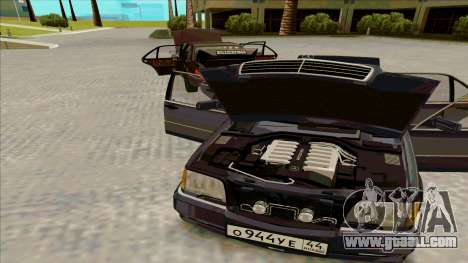 Mercedez-Benz W140 for GTA San Andreas back left view