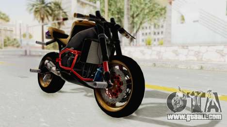 Honda CBR1000RR Naked Bike Stunt for GTA San Andreas