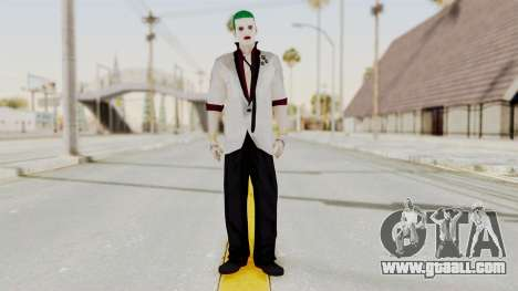 The Joker from Suicide Squad Re-Textured for GTA San Andreas second screenshot