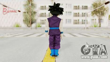 Dragon Ball Xenoverse Gohan Teen DBS SJ v1 for GTA San Andreas third screenshot