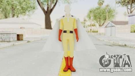 Saitama One Punch Man for GTA San Andreas second screenshot