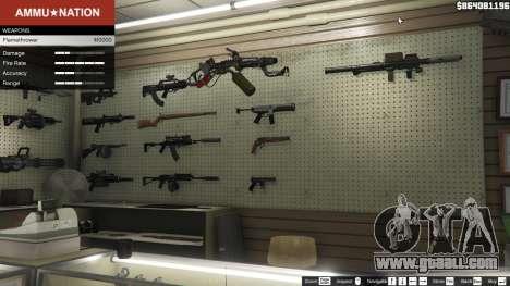 GTA 5 Real Flamethrower 1.5 third screenshot