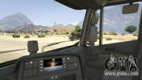 GTA 5 Iveco Stralis HI-WAY rear right side view