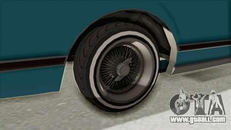 GTA 5 Dundreary Virgo Classic Custom v3 for GTA San Andreas inner view