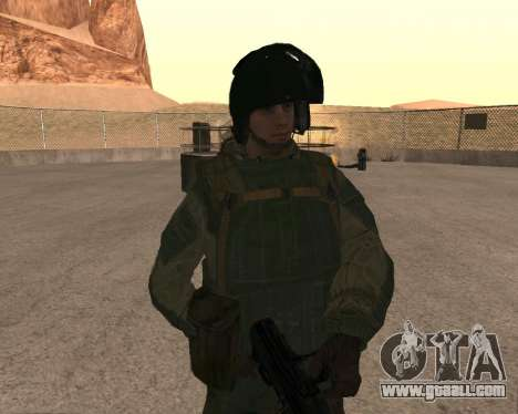Special forces of the Russian Federation for GTA San Andreas fifth screenshot
