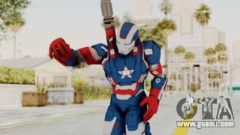 Marvel Heroes - Iron Patriot for GTA San Andreas