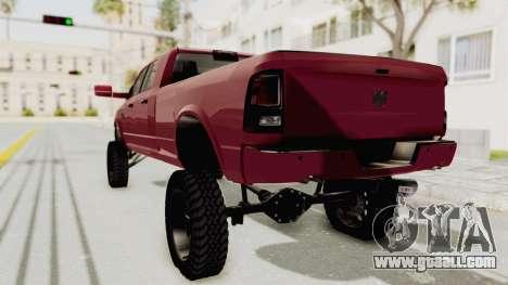 Dodge Ram Megacab Long Bed for GTA San Andreas left view
