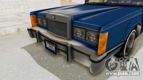 GTA 5 Dundreary Virgo Classic Custom v1 IVF for GTA San Andreas upper view