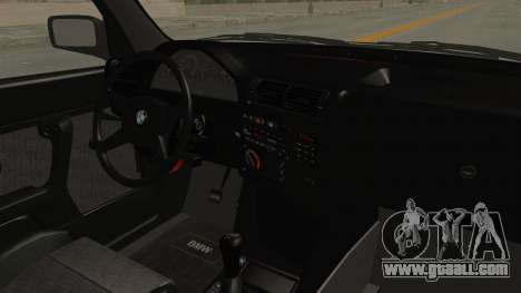 BMW M3 E30 Camber Low for GTA San Andreas inner view