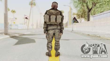 COD BO SOG Reznov v1 for GTA San Andreas third screenshot