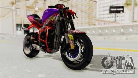 Kawasaki Ninja ZX-6R Stunter for GTA San Andreas