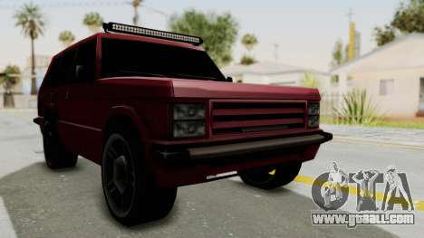 Huntley LR for GTA San Andreas right view